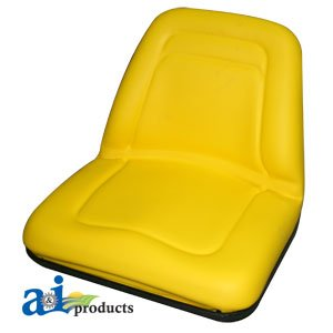 Deluxe Midback Utility Seat - Yellow, Model# - A & I TM555YL