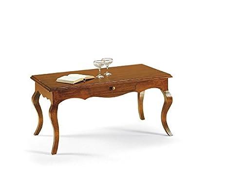 Tavolini Da Salotto Classici Prezzi.Lo Scrigno Arredamenti Tavolino Rettangolare Da Salotto
