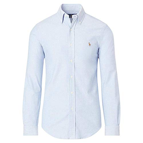 Mens Classic Fit Oxford Longsleeve Buttondown Shirt (Large, ()