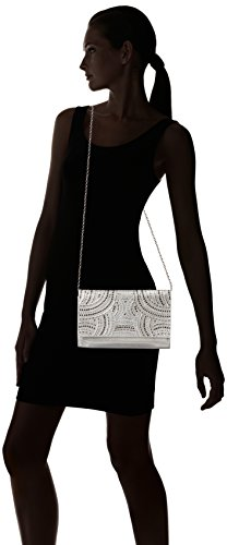 Sparkle McClintock Jessica Shine Studded Silver and Nora Clutch qzwndWStw