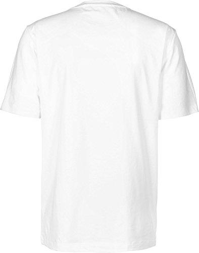 Bianco shirt Klein Jeans T Stripe Calvin nwPxfgqYq