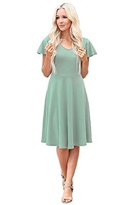 Mikarose Daisy Modest Dress or Modest Bridesmaid Dress
