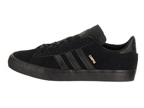 Adidas Mens Campus Vulc Ii Skate Scarpa Cblack / Cblack / Cblack