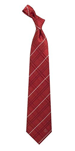 Boston Red Sox Men's Oxford Woven Tie by Eagles Wings - Red One Size by Eagles Wings