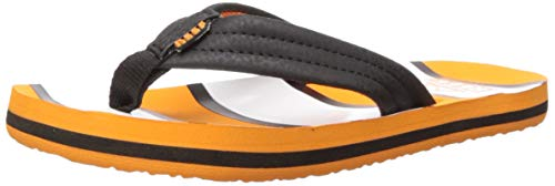 (Reef Unisex AHI Sandal, Orange Fish 13-1 Medium US Little Kid)