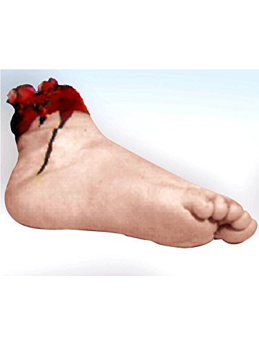 Rubie's Creepy Realistic Severed Foot Body Part Prop