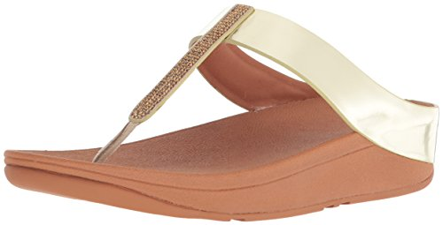 Toe Post Fino Womens Sandals Gold Fitflop 5qERwxR