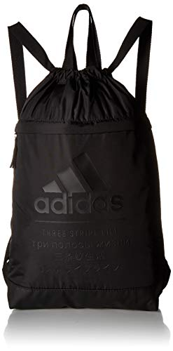 adidas Amplifier Blocked Sackpack, Black, One Size