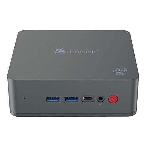 chollos oferta descuentos barato Beelink U55 Mini PC Ordenador de Sobremesa con Windows 10 CPU Intel Core i3 5005U 8GB RAM 256GB SSD 2 4 5 8GHz WiFi Intel HD Graphics 5500 4K 1000Mbps BT 4 0
