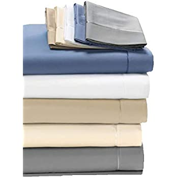Degree 5 Dreamfit Bamboo Rich Naturally Cooling Sheet Set 100% Made in The USA (Blue, Split King)