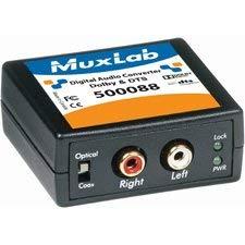 MuxLab 500088 Digital Audio 5.1-Channel & DTS Converter by Muxlab
