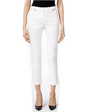Women's Cropped Straight-Leg Pants