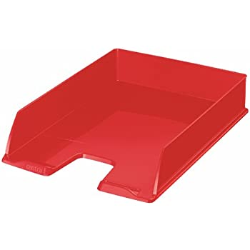 Red Jumbo Leitz A4 Letter Tray Plus Range 52330025
