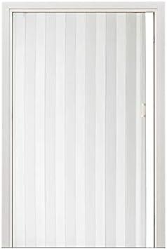 Puerta plegable de PVC para armario y armario, 12 mm de grosor, puerta corredera de acordeón: Amazon.es: Bricolaje y herramientas