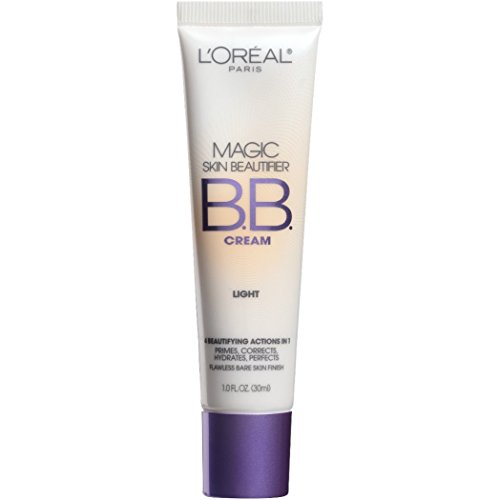 Cream Foundation Bb (L'Oréal Paris Makeup Magic Skin Beautifier BB Cream Tinted Moisturizer Face Makeup, Light, 1 fl. oz.)