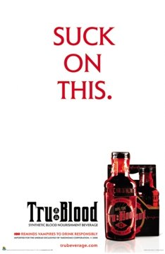 TRUE BLOOD - Suck on This - HBO - NEW POSTER 24x36 (True Blood Gifts)