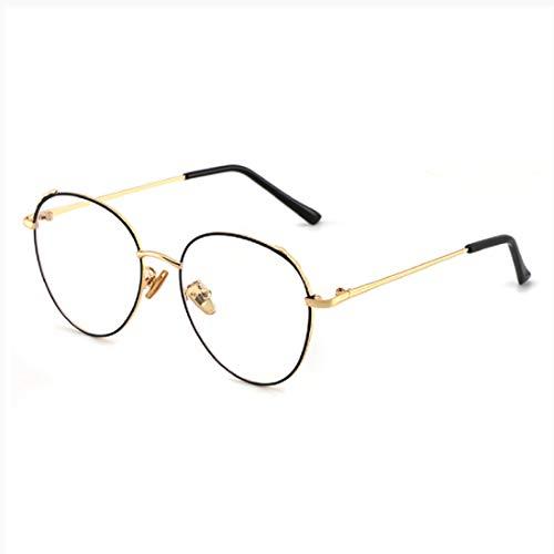 Blue Light Blocking Glasses for Computer Use, Anti Eyestrain UV Filter Lens Lightweight Frame Eyeglasses, Women]()
