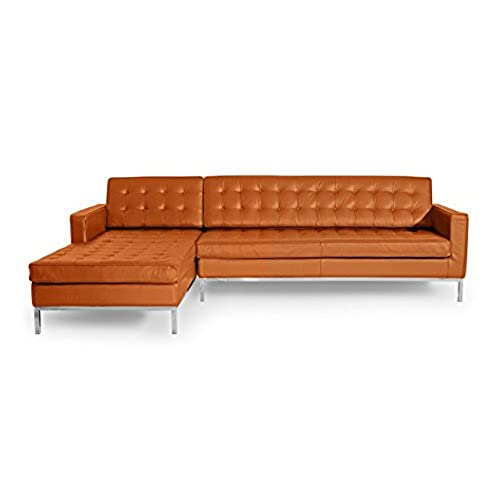 Best Genuine Leather Sectional Sofa: Genuine Leather Sectional: Amazon.com