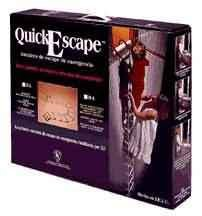 Quick-Escape 12 Ft. Steel Chain Ladder-with Plastic Sleeves-UL