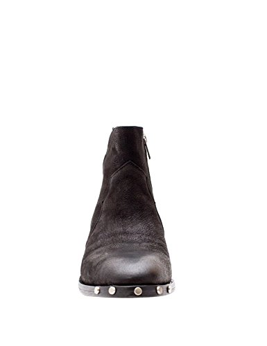 Catarina Martins Womens Olsen Star Womens Cowboy Boots In Black Leather Black