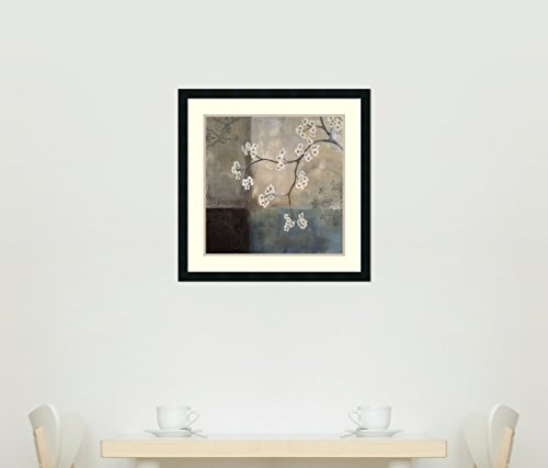 Framed Art Print, 'Spa Blossom I' by Laurie Maitland: Outer Size 25 x 25'' by Amanti Art (Image #9)