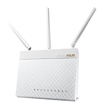 Asus Wi-fi Router With Data Rates Up To 1900 Mbps (Rt-ac68w) 1