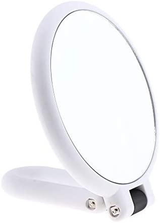 Schminkspiegel mit Saugn/äpfen SM SunniMix 4pcs Make-up Spiegel Kosmetikspiegel 10-Fach //15-Fach Vergr/ö/ßerungsspiegel