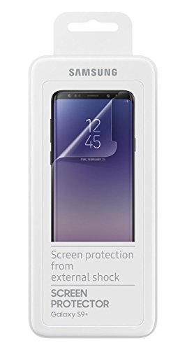 Official OEM Samsung Galaxy S9/S9+ Screen Protectors - Twin Pack (S9+)