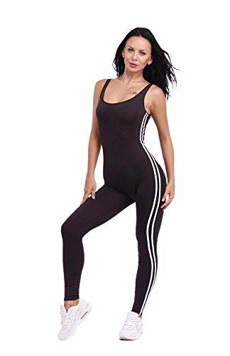 3 puro siameses La 6013blackE1 pantalones mujer de de noche falda vendaje HDYS color wT7axx