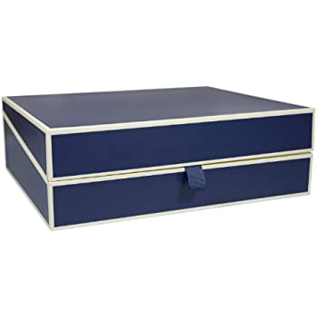 Semikolon Letter/A4 Size Document Storage Box Marine Blue (31903)  sc 1 st  Amazon.com & Amazon.com: Semikolon Letter/A4 Size Document Storage Box Marine ...