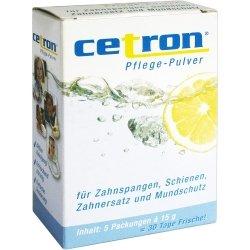 Cetron Reinigungspulver, 5X15 g