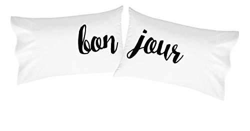 Oh, Susannah Bonjour Pillowcases Cursive Font - Set of 2 20x30