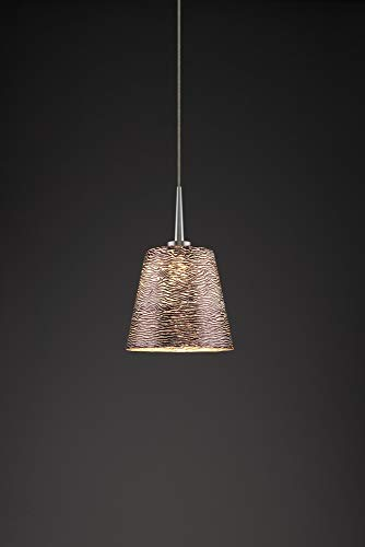 (Bruck Lighting 223842mc/MP Bling 1 LED Pendant with 4