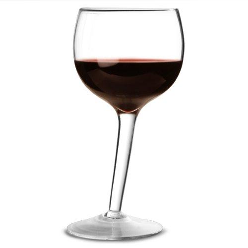 bar@drinkstuff Wonky Wine Glasses 10.5oz/300ml by Set of 2 - Novelty Wine Glasses, Gift Ideas