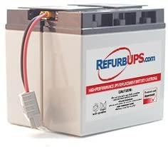 APC Smart-UPS 1500 SUA1500X93 Compatible Replacement Battery Kit with Harness