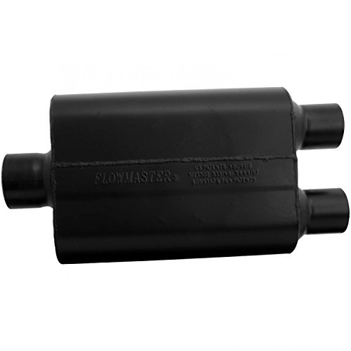 Flowmaster 9430452 Super 44 Muffler - 3.00 Center IN/2.50 Dual OUT - Aggressive (Super Flow Muffler)