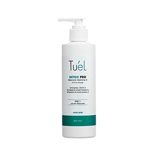 Tu'el Skincare Detox Cleansing Oil, 8 Ounce