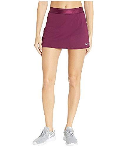 [NIKE(ナイキ)] レディースウェアジャケット等 Court Dry Skirt Stretch Bordeaux/White/White/Bordeaux US MD (M) [並行輸入品]   B07N581HG4