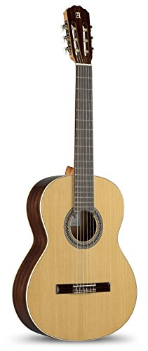 Alhambra 6 String Classical Guitar, Right, Solid Canadian Cedar, (2C-US)