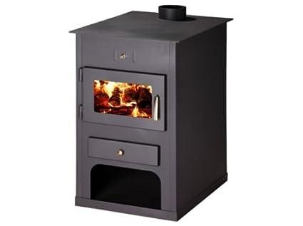 Estufa de leña chimenea moderna Log quemador de la madera para chimenea Multi 15 kW