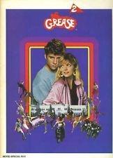 Grease 2 1982 original movie program - NOT A DVD