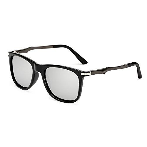 Volver C4 sol de KP7037 de polvoriento Gafas C5 sol aluminio Plaza de sol polarizadas retro TL KP7037 gafas de Gafas Sunglasses nqpTxI