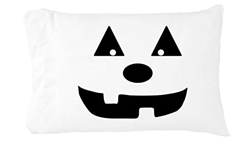Oh, Susannah Halloween Pumpkin Toddler Pillowcase (1 14 X 20.5 inch, Black) Kids Room Decor