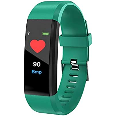 LETAMG Activity Trackers Smart Wristbands By Ideal 115 Plus Waterproof Sports Smart Band Color Screen Bluetooth Smart Bracelets Heart Rate Monitor 2018 Estimated Price -