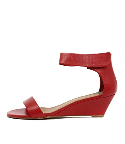 MOLLINI Red Heels Leather Strap Ankle Red Shoes Marsy Lea Womens Hq8pwrH4