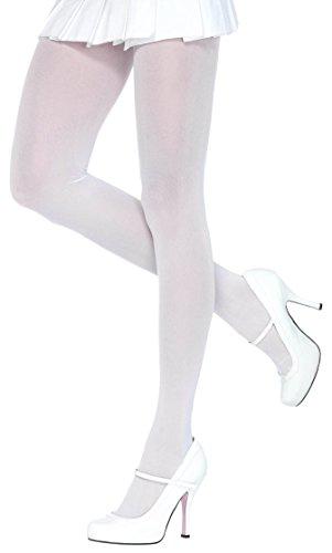ToBeInStyle Women's Nylon Lycra Sheer Tights - White - ()