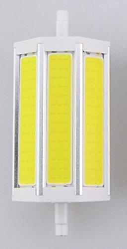 JKLcom R7S COB LED Bulbs R7S 118mm 15W Not Dimmable COB Light Floodlight Double Ended j Type Tungsten Halogen Bulb Replacement (Daylight White) by JKLcom (Image #2)