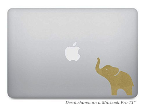 Gold Elephant Macbook Decal Removable product image