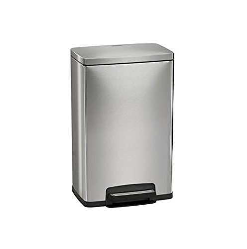 Tramontina 13 Gallon Step Trash Can Stainless Steel Includes 2 Freshener Cartridges by Tramontina (Tramontina Step Trash Can compare prices)