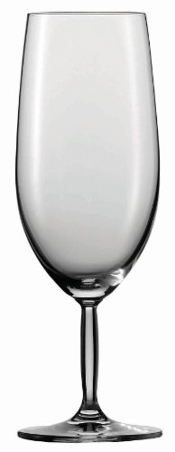 (Schott Zwiesel Tritan Crystal Glass Diva Stemware Collection All Purpose Beer Glass, 14.2-Ounce, Set of 6)